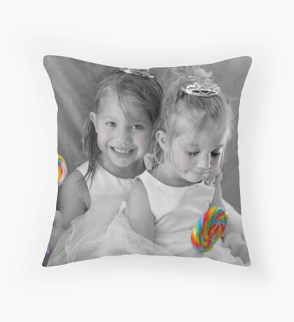 Sugar And Spice Throw Pillow