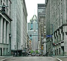 Downtown Pittsburgh  by Dyle Warren