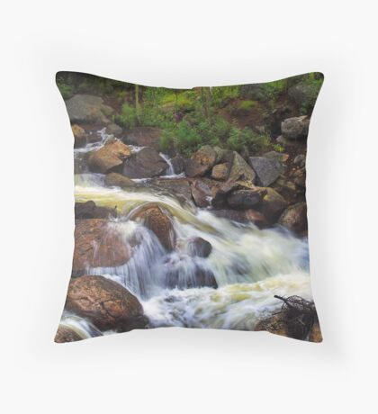 Where God Comes to Relax... Throw Pillow
