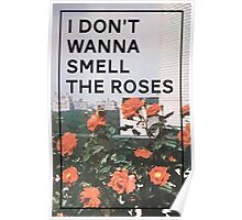 I Don't Wanna Smell The Roses Poster