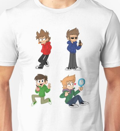 Three Brits and a Norwegian (Eddsworld) Unisex T-Shirt