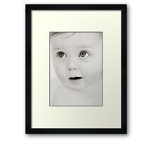 Innocence and Wonder Framed Print