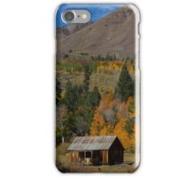 Old Cabin at Hope Valley iPhone Case/Skin