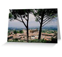 Italian travels Greeting Card