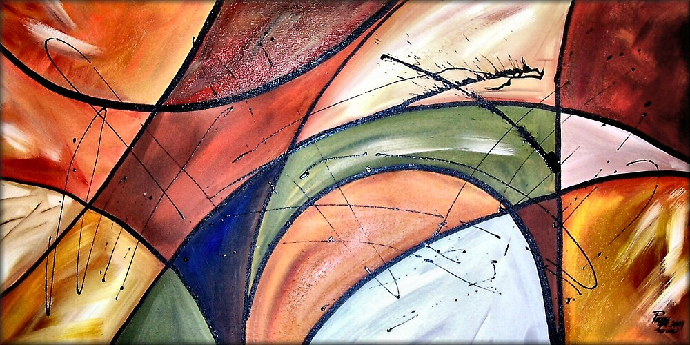 Amaze Of Color by Peggy Garr