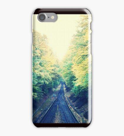 Ungenutzte Bahnstrecke iPhone Case/Skin