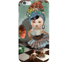 Typeface Dances With Wolves iPhone Case/Skin