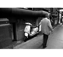 Flinders Lane Photographic Print