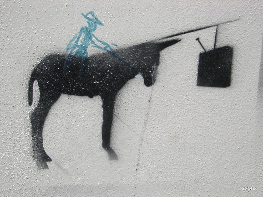 Italian graffiti by sxpnz