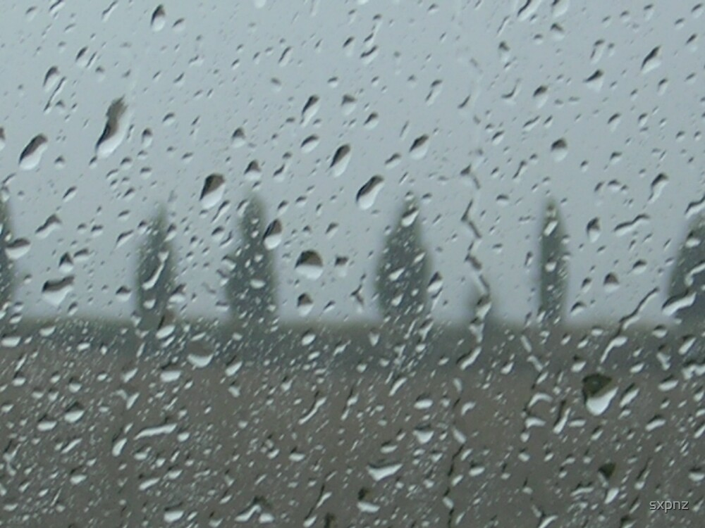 Rainy day in Tuscany by sxpnz