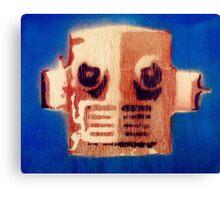 A Robot Canvas Print