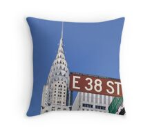 Midtown East-0546 Throw Pillow