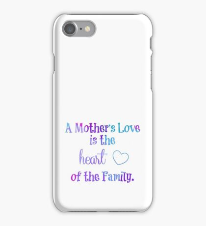 A Mother's Love iPhone Case/Skin