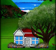 Pohutukawa Cottage by Kirsty Russell