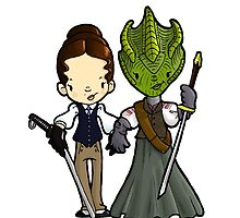 Vastra and Jenny forever by Bantambb