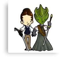 Vastra and Jenny forever Canvas Print