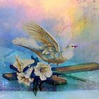 EASTER BLESSINGS AT THE WINDOWSILL by Tammera