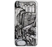 Still Life with Empty Ash Tray, 2012 iPhone Case/Skin
