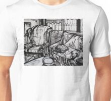 Still Life with Empty Ash Tray, 2012 Unisex T-Shirt