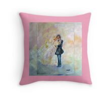 Wedding Dance Art Designed Decor & Gifts Throw Pillow