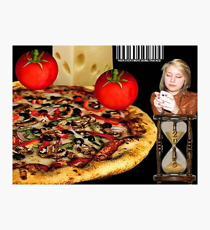 ☝ ☞ WE ARE BEING TRACKED..COULD THIS BE THE FUTURE - ORDERING PIZZA?.. TECHNOLOGY- AND THEY CALL IT PROGRESS ..U -B-THE JUDGE..SEE VIDEO HUGS..☝ ☞ Photographic Print