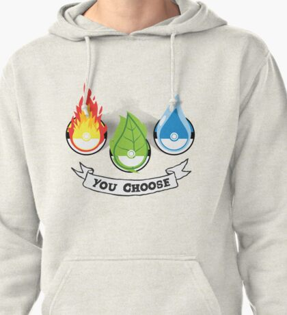 Pokemon - You Choose Pullover Hoodie