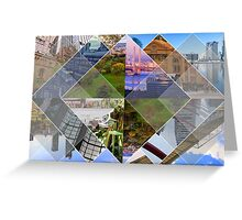 Melbourne The World's Most Livable City Collage Greeting Card