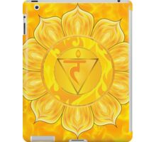 Solar Plexus Chakra  with yellow flare BG iPad Case/Skin