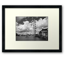 Take a Flight on the London Eye Framed Print
