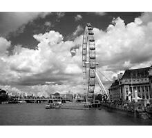 Take a Flight on the London Eye Photographic Print