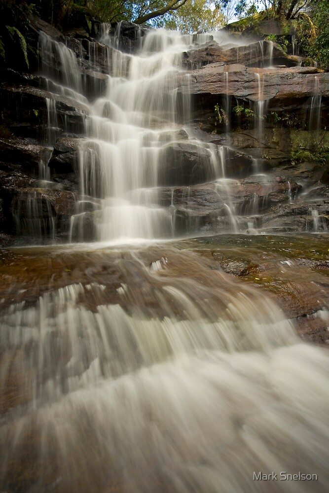 Somersby Falls 12 by Mark Snelson