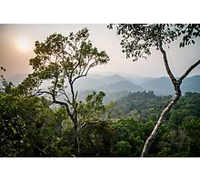 Nam Kan forest from a tree house Photographic Print