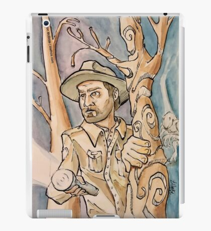 Chief Hopper from Stranger Things iPad Case/Skin