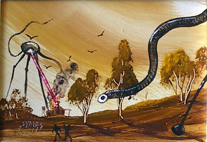 War of the Worlds by Adrian Symes