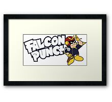 Falcon Punch Framed Print