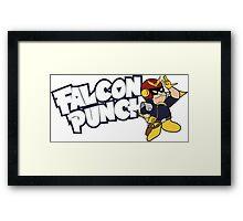 Falcon Punch Framed Print