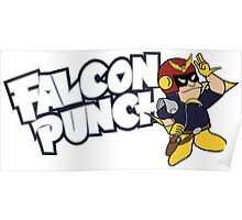 Falcon Punch Poster