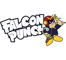 Falcon Punch Photographic Print