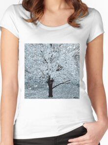 The Snow Tree Women's Fitted Scoop T-Shirt