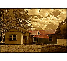 The abandoned cottage Photographic Print