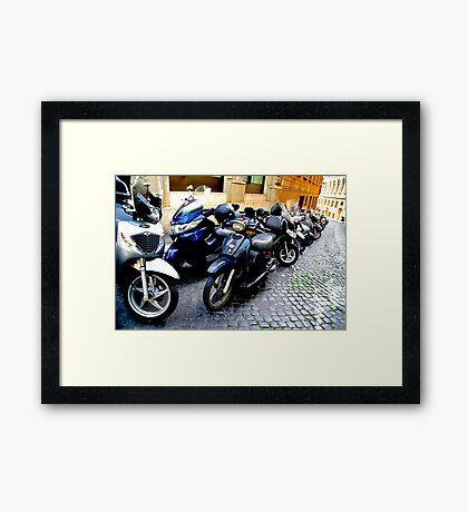 Vespa! Framed Print