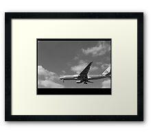 Jet Framed Print