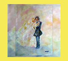 Wedding Dance Art Designed Gifts & Decor - Yellow by innocentorigina