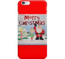 Merry Christmas from Santa and Crew at the North Pole iPhone Case/Skin