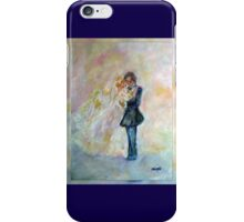 Wedding Dance Art Designed Decor & Gifts - Navy Blue iPhone Case/Skin