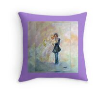 Wedding Dance Art Designed Decor & Gifts - Soft Purple Throw Pillow