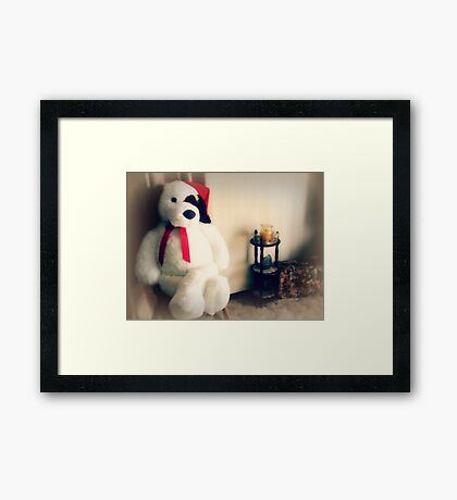 *Big Gift for a small person* Framed Print