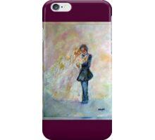 Wedding Dance Art Designed Decor & Gifts - Burgundy iPhone Case/Skin