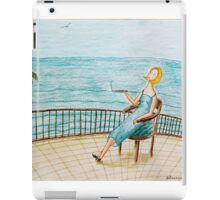 Summer rest iPad Case/Skin