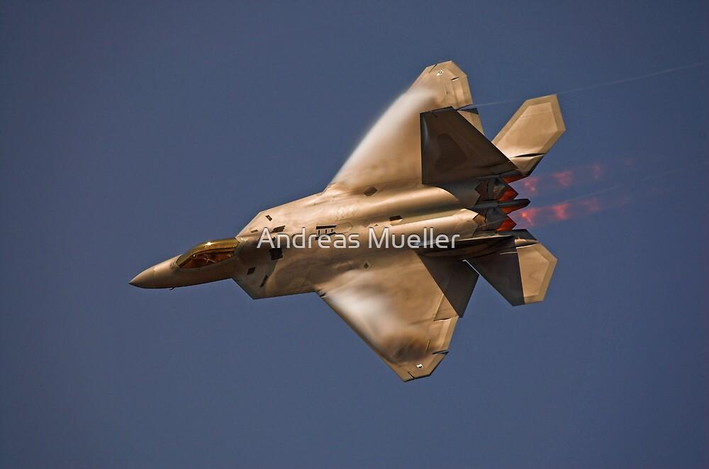 F-22 Raptor by Andreas Mueller